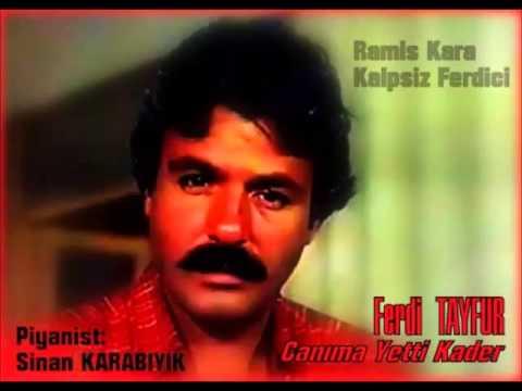 Ferdi TAYFUR - CANIMA YETTİ KADER ( Altyapı & Karaoke )