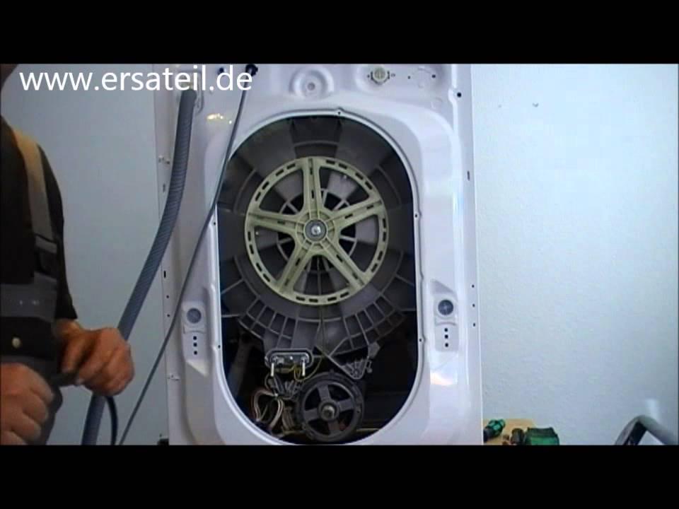 Video Guide Keilriemen In Der Waschmaschine Wechseln Youtube