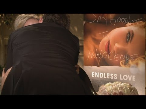 Alex Pettyfer makes out with reporter during Endless Love