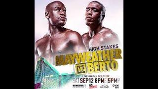 Floyd Mayweather vs Andre Berto (9/12/2015)