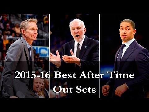 2015-16 NBA Best After Time Out Sets