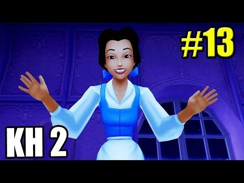 Kingdom Hearts 2 HD 2.5 ReMix {PS3} часть 13 — Красавица и Чудовище