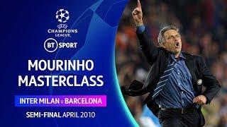 Mourinho masterclass! Inter vs Barcelona (2010), first and second leg highlights