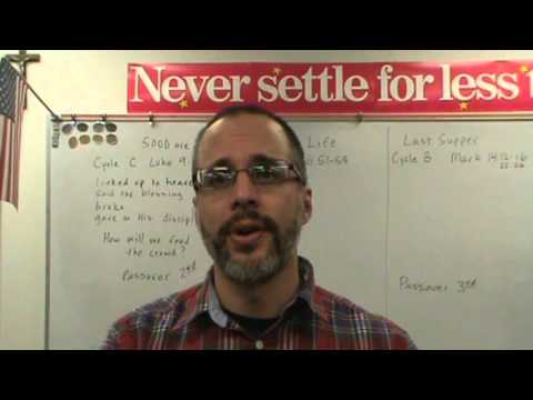 Never Settle Series - Corpus Christi (Body and Blood of Jesus Christ)