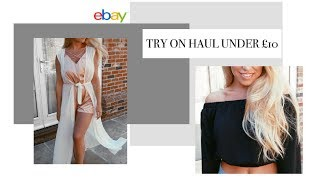 UNDER £10 EBAY HAUL 2017 | & GIVEAWAY! | Freya Farrington
