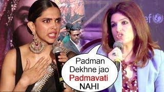 Padmavati: Akshay Kumar's Wife Twikle Khanna's Shocking INSULT To Deepika Padmavat After Padman FLOP