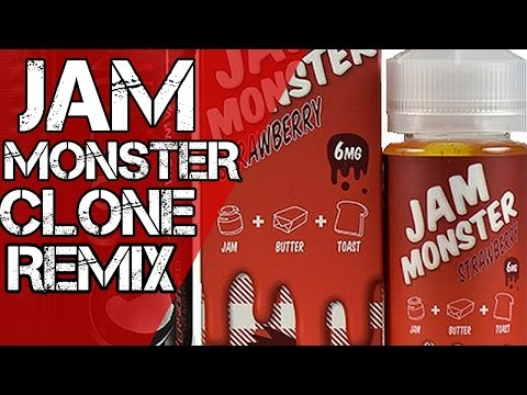 DIY E-Liquid Strawberry Jam Monster Clone Remix Recipe