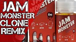 DIY E-Liquid Strawberry Jam Monster Clone Remix Recipe