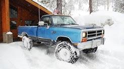 1990 Dodge Cummins cold start