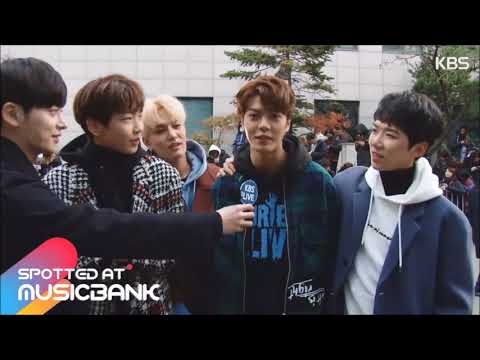 The Unit - Red Team - Spotted at Music Bank Interview