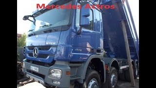 Jak odrestaurować auto Naprawiamy Mercedesa #mercedes#actros#mercedesbenz#tir#remont#8x8#wywrotka#