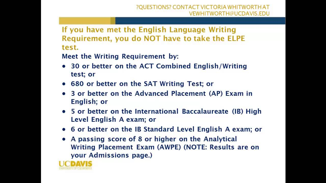 placement test essay examples