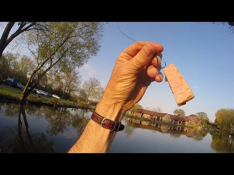 MEAT FISHING! - Catching Fish With Meat Bait