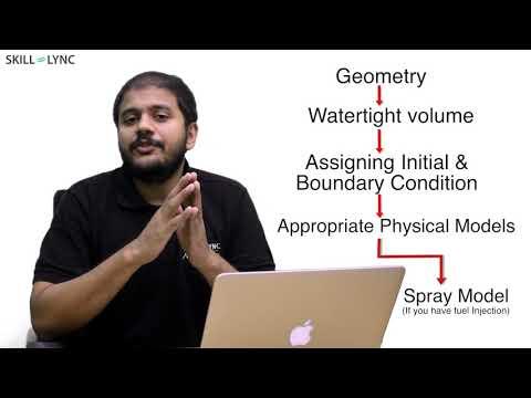Learn basics of IC Engine Simulation | CFD tutorial for beginners | SKILL-LYNC