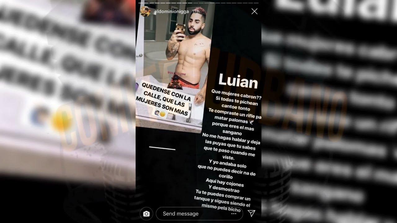 EL DOMINIO Le Tira a DJ LUIAN | Ultimos Post de Ig de El Dominio