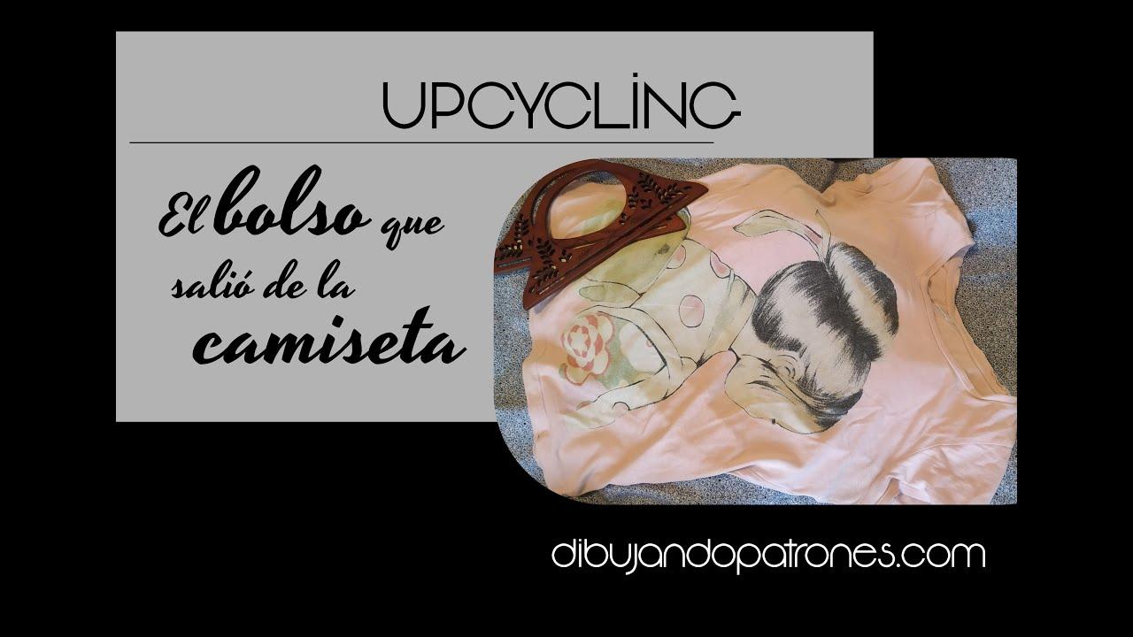 Upcycling - el bolso que salió de una camiseta