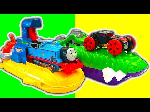 Hot Wheels Splash Rides Terror Tooth Transformers Sharkpedo Shark Attack Unboxing Pool Toys Review