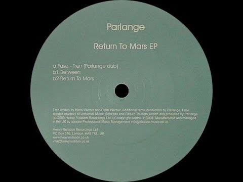Parlange ‎– Return To Mars (Original Mix)