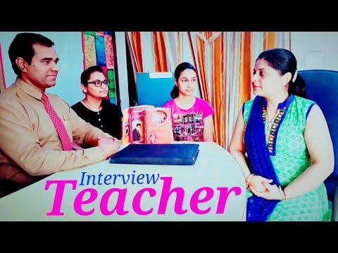 Teacher Interview : #KVS #School #teacher #Interview Video : Demo Lesson
