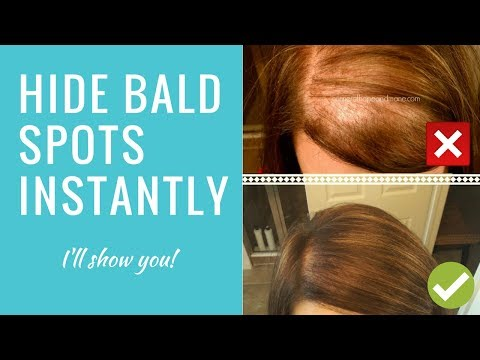 hide-it!-scalp-concealer-for-bald-spots-&-thinning-hair-(bumble-&-bumble-demo)
