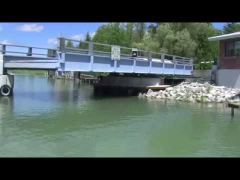 Alanson Swing Bridge Michigan Inland Waterway