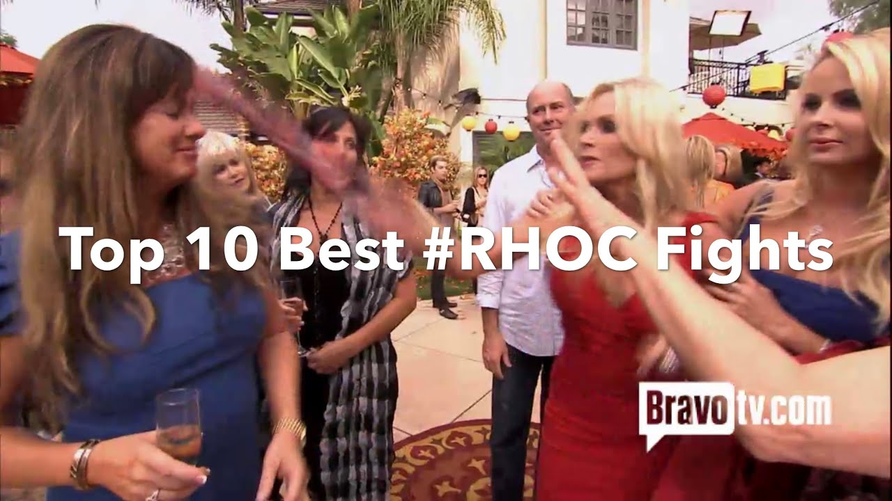 Download Best Housewives Fights   (Episode 2)   Top 10 Best #RHOC Fights from (Seasons 1-14)