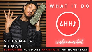 Stunna 4 Vegas - What it Do (Instrumental) MP3 Free Download | (FLP and MP3 Download)