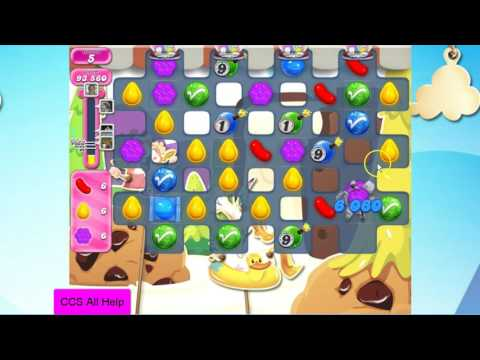 Candy Crush Saga Level 2595 NO BOOSTERS Cookie