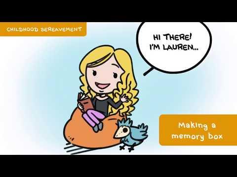 Childhood Bereavement - Making A Memory Box