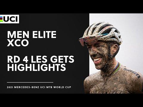 Download Round 4 - Men Elite XCO Les Gets Highlights   2021 Mercedes-Benz UCI MTB World Cup