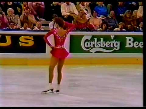 Caryn Kadavy (USA) - 1987 World Figure Skating Championships, Ladies' Long Program