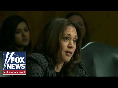 Kamala Harris Draws Comparison Between ICE And KKK