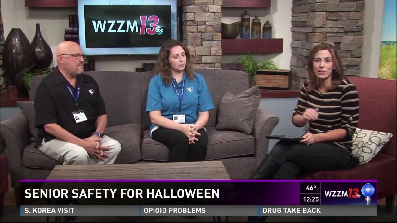 WZZM ABC 13 Grand Rapids, MI Halloween Helpers 2017