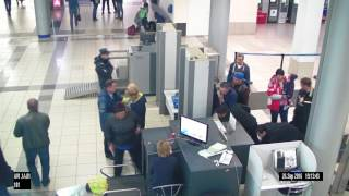 Кража борсетки в аэропорту