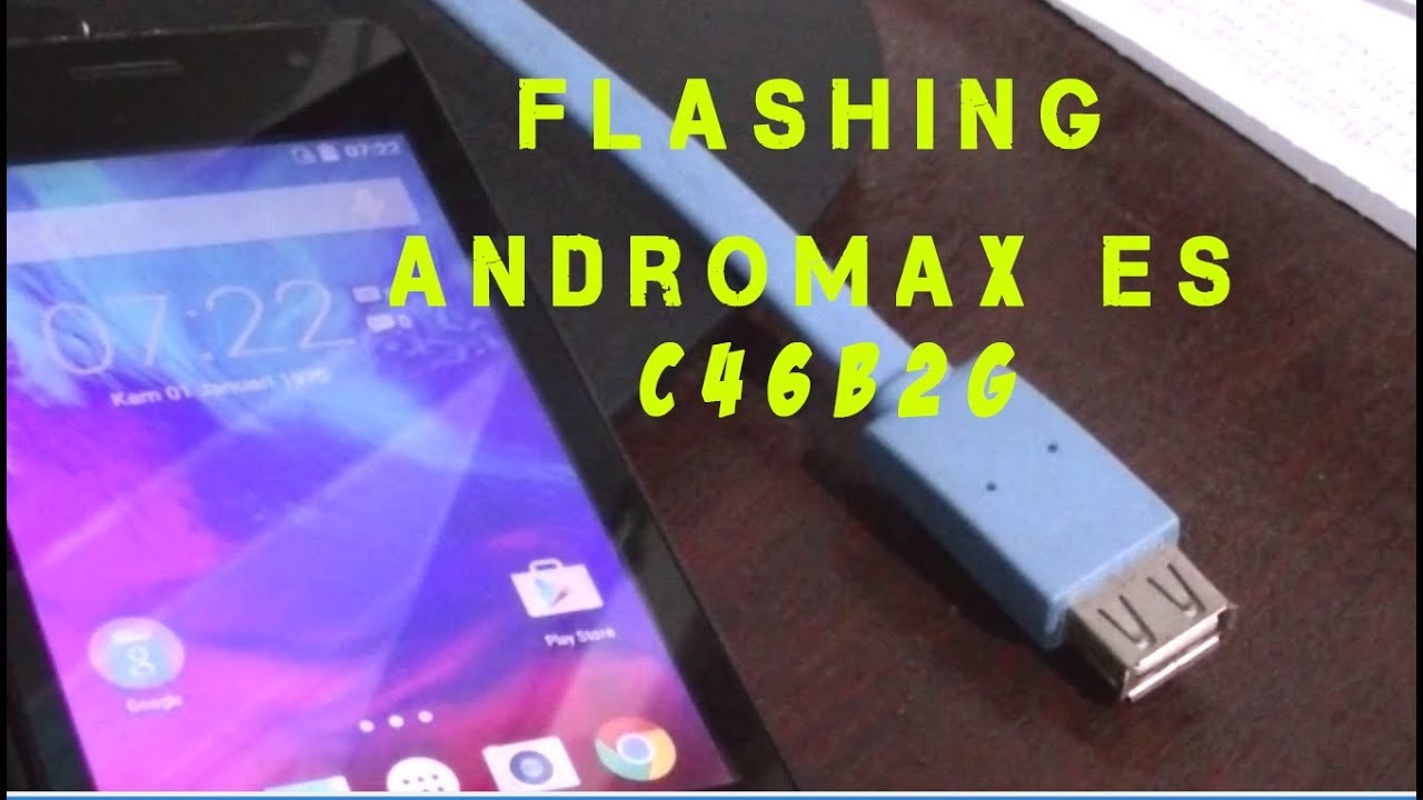Flashing Andromax Es C46b2g Mati Boot Loop Pola Dll Youtube