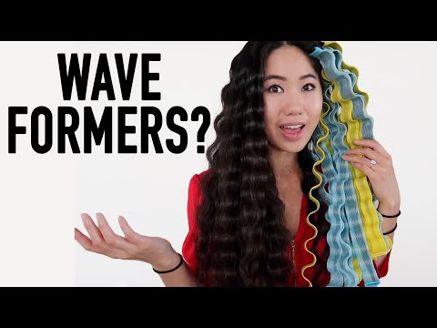 Wave Formers Review | Best Heatless Wavy Hair Curlers?