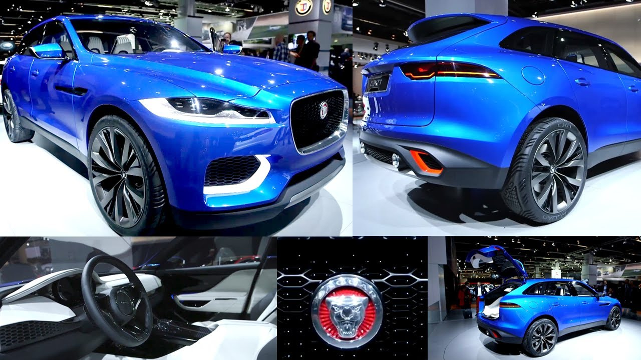 Jaguar C X17 SUV Interior U0026 Concept At Frankfurt Motor Show German 2013    YouTube