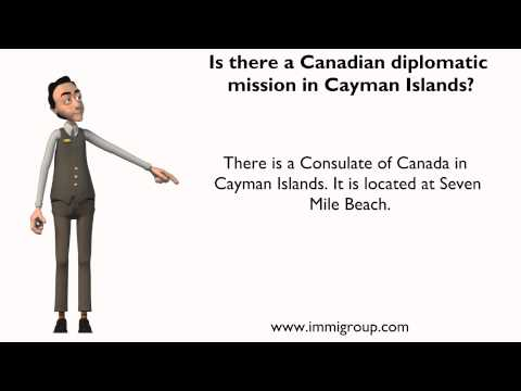 Is there a Canadian diplomatic mission in Cayman Islands?