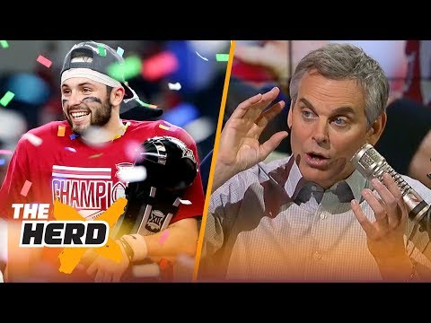 Colin Cowherd on Baker Mayfield's Heisman chances, Josh Rosen's NFL future | THE HERD
