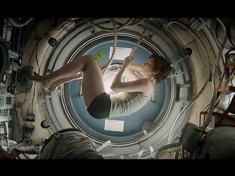 Gravity (2013) - 'Airlock' / Rebirth scene [1080]
