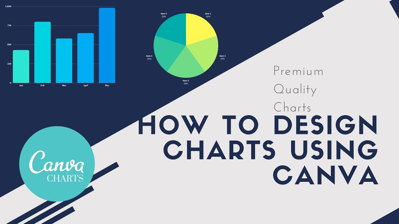 How to Design Gorgeous Charts Using Canva | Bar Chart Using Canva without  Excel