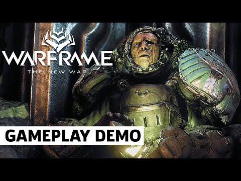Download Warframe New War 30 Minute Gameplay Demo   Tennocon 2021