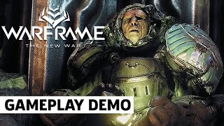 Warframe New War 30 Minute Gameplay Demo | Tennocon 2021