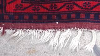 Beautiful 6x4 Handmade Persian Wall Tapestry Carpet Sarouk Hanging Oriental Rug