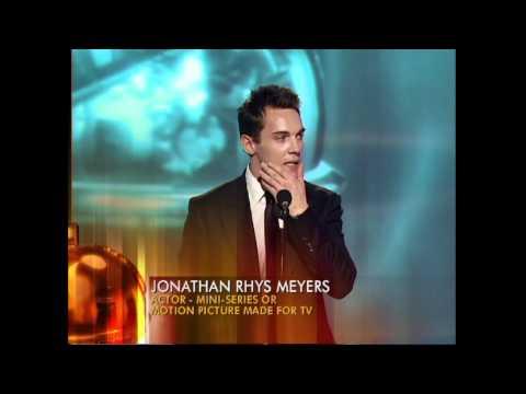 Jonathan Rhys Meyers Wins Best Actor Mini-Series - Golden Globes 2006