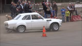 Ford Escort RS 1600 MK1 Rally Drifting at Time Attack