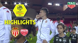 AS Monaco - Dijon FCO ( 1-0 ) - Highlights - (ASM - DFCO) / 2019-20