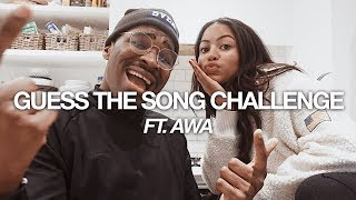 GUESS THE SONG CHALLENGE FT AWA SANTESSON-SEY  BABATUNDE