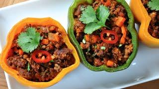 Chorizo Stuffed Bell Peppers Recipe