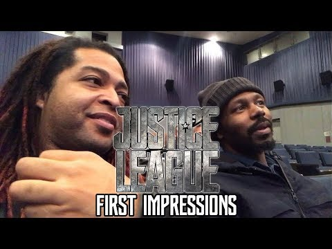 JUSTICE LEAGUE MOVIE: FIRST IMPRESSIONS (BEFORE AND AFTER THOUGHTS) (NON SPOILER)
